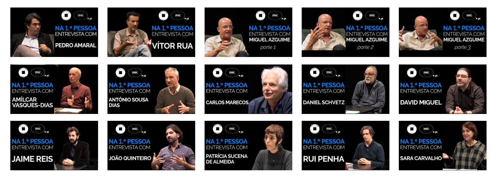 Illustration de 1st Person Interviews with Portuguese Composers Cycle